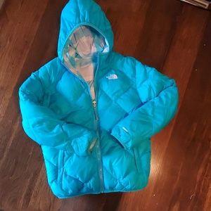 North Face 550 Down Reversible Coat